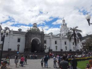 Catedral Metropolitana Quito, Plaza de la Independencia