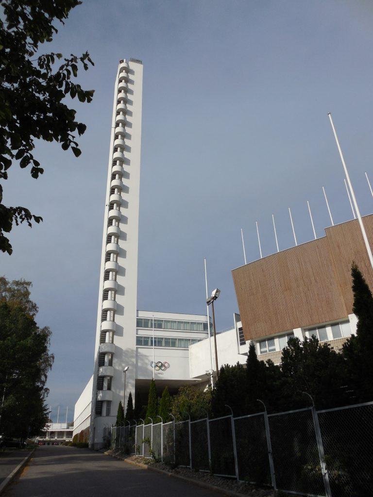 Věž olympijského stadionu v Helsinkách (2014)