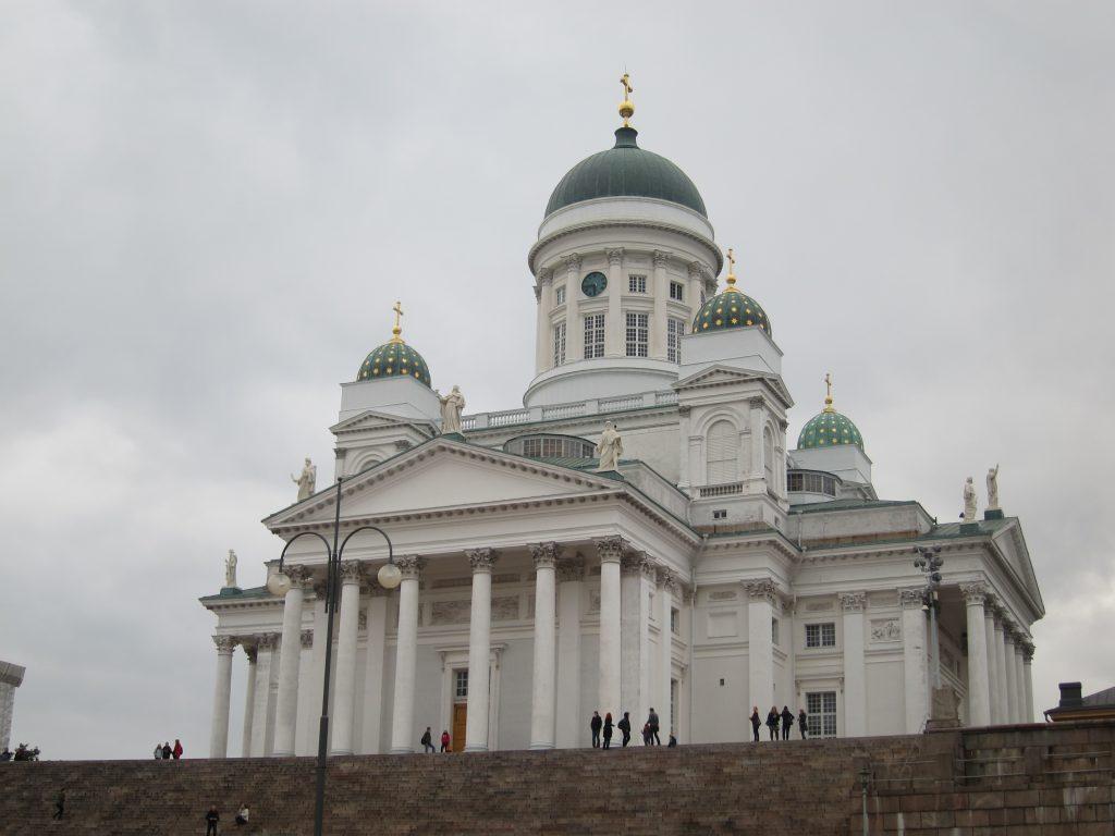 Evangelická katedrála v Helsinkách (Tuomiokirkko)